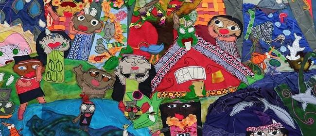 Matariki Super Star Selfie Fabric Art Workshop