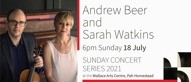 Sunday Concert Series: Andrew Beer & Sarah Watkins