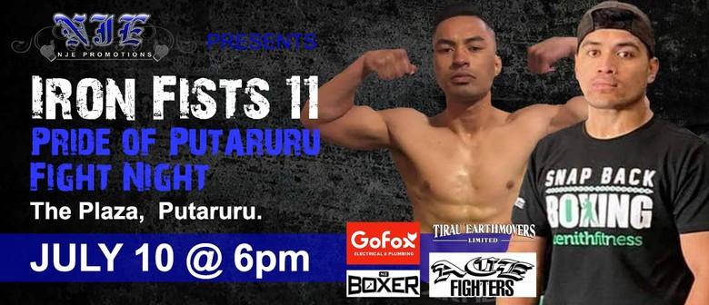 Iron Fist 11 Pride of Putaruru