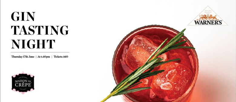 Warner's Gin Tasting & Cocktail Night