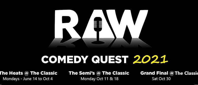 Raw Comedy ... Open Mic