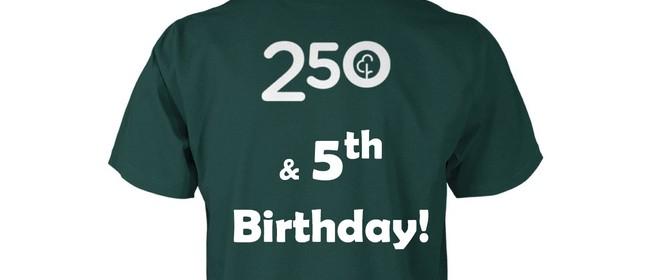 Pegasus parkrun: 250th Run & 5th Birthday