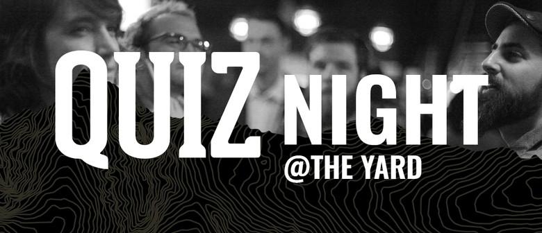 Quiz Night at The Yard