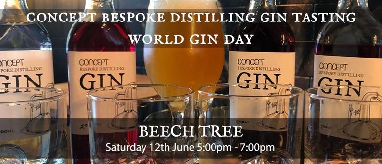 Concept Bespoke Distilling Gin Tasting