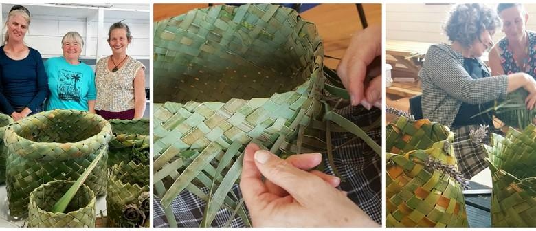 Harakeke NZ Flax Weaving Introduction Weekend Workshop