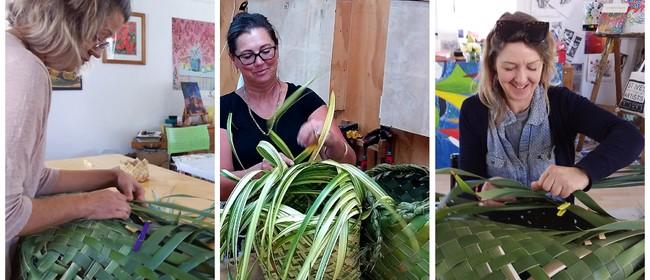 Harakeke  Workshop - Weave the Greenest Shopping Basket