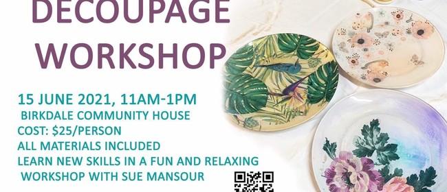 Decoupage Workshops