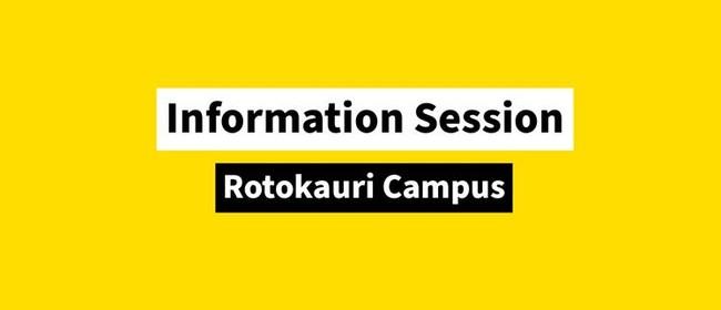 Wintec Rotokauri Information Session