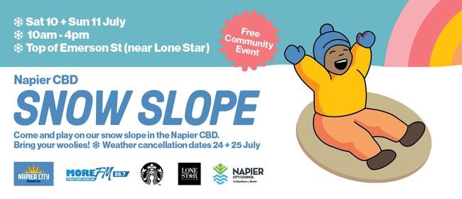Napier CBD Snow Slope