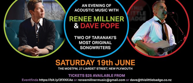 Renee Millner & Dave Pope - Live at The MOST FM Taranaki