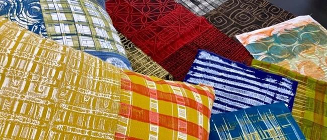 Textile Monoprinting Workshop with Artist Sue Weston