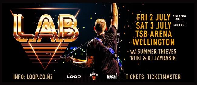 L.A.B - 2021 Winter Tour