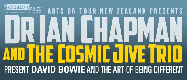 DR. Ian Chapman and The Cosmic Trio Tour.