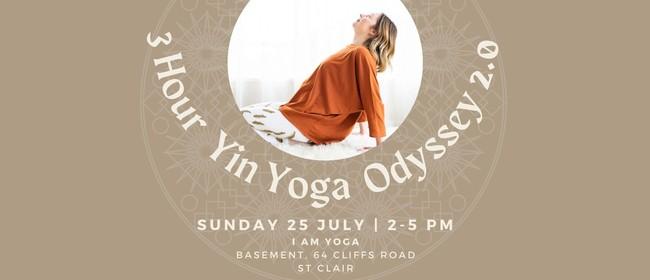 3 Hour Yin Yoga Odyssey 2.0