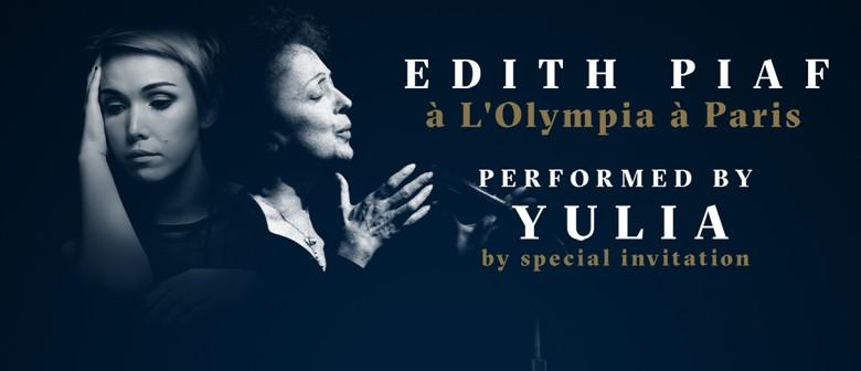 Edith Piaf à L'Olympia à Paris