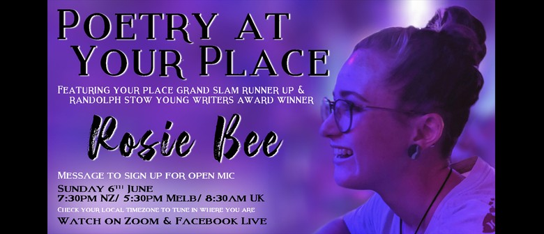 Poetry at Your Place feat. Rosie Bee