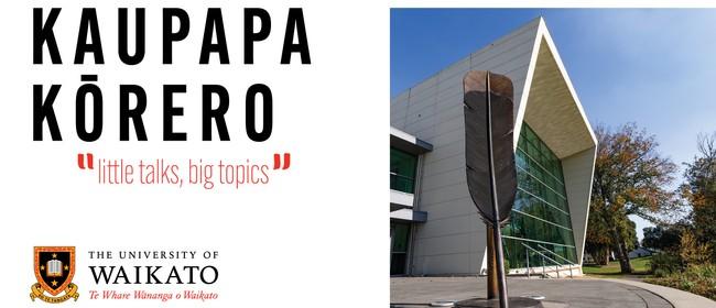 Kaupapa Kōrero - 'little talks, big topics'