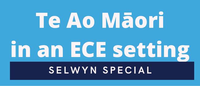 Te Ao Māori in an ECE Setting