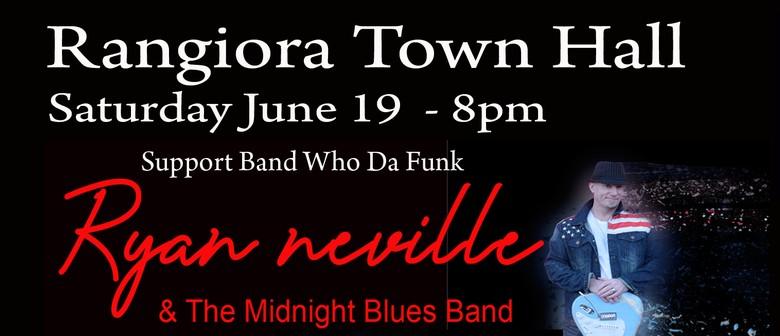 Ryan Neville & The Midnight Band Live - Rangiora Town Hall