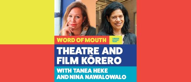 Theatre and film kōrero with Tanea Heke and Nina Nawalowalo
