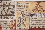 Music & Memory - Palliser Viols on the Main Trunk Line 2021: POSTPONED