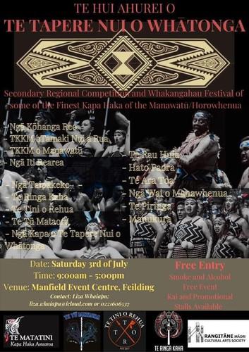 Te Hui Ahurei O Te Tapere Nui O Whatonga Festival