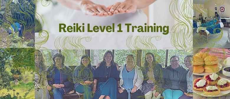 Reiki Level 1 Training - November Retreat