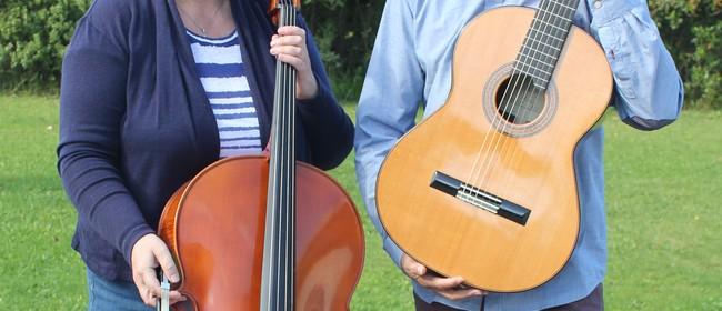 Music for flute, violin/viola, guitar and cello