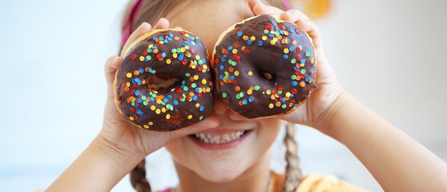 School Holiday Kids Donut Decorating Class