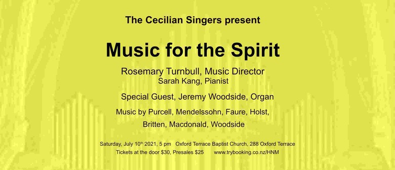 The Cecilian Singers - Music for the Spirit