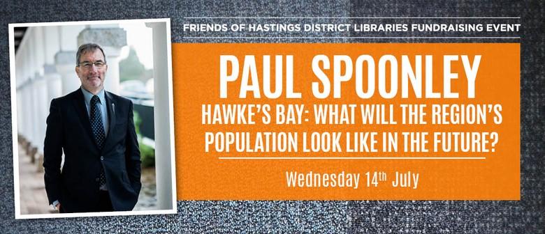 Paul Spoonley  -  Hawke's Bay Population Demography
