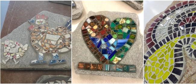 Mosaics: Mosaic a Garden Rock or Paver Stone