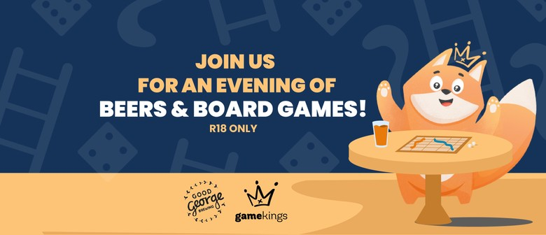 Board Games Night hosted by Game Kings