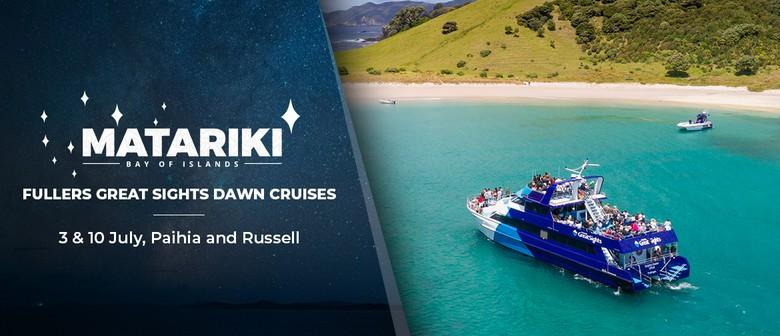 Fullers GreatSights Matariki Dawn Cruise