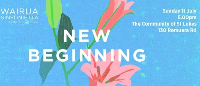 Wairua Sinfonietta Presents: New Beginning