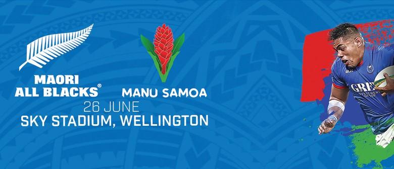 Manu Samoa v Maori All Blacks