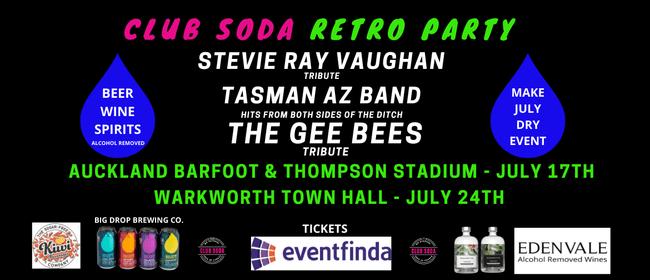 Club Soda Retro Party: CANCELLED