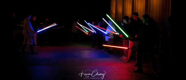 Lightsabers In The Park