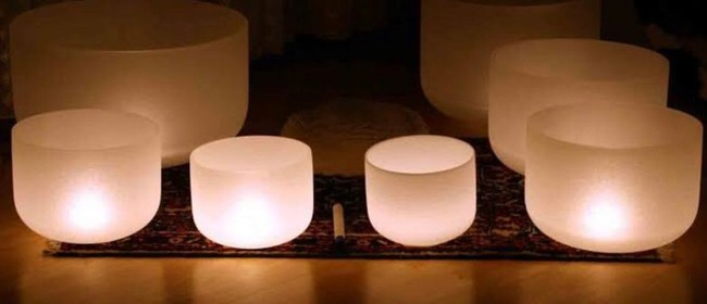 New Moon Crystal Bowl Sound Healing & Tea Ceremony: CANCELLED