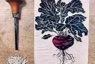 Image for event: School holiday Beginner Printmaking with Moire Mathieson