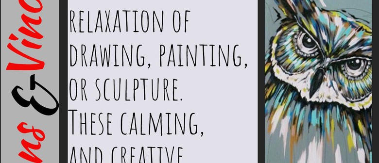 Adult Art & Creative Class with Moire Mathieson