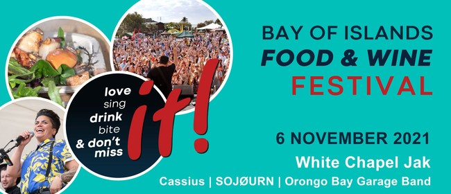 """""""it!"""" Bay of Islands Food and Wine Festival: CANCELLED"""