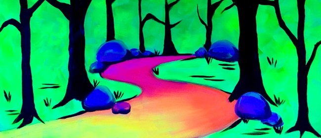 Glow in the Dark Paint Night - Enchanted Forest