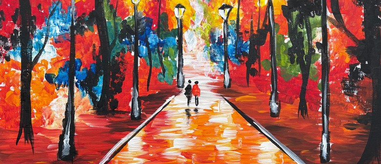 Paint and Wine Night - A Farewell to Anger
