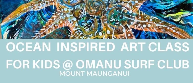 Ocean Inspired - July Holiday Art Workshop for Kids