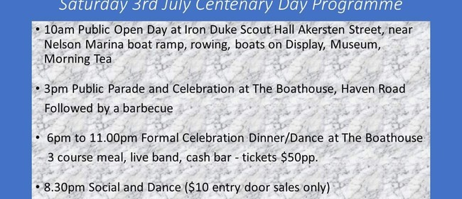 Iron Duke Sea Scout Centenary