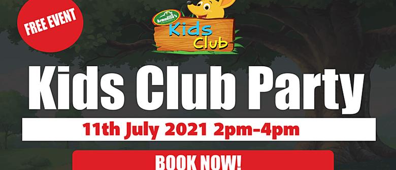 Timaru Kids Club Party