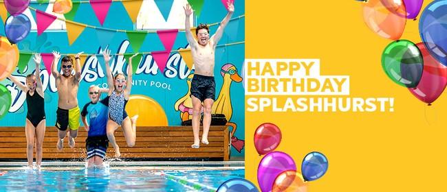 Splashhurst Birthday Pool Party