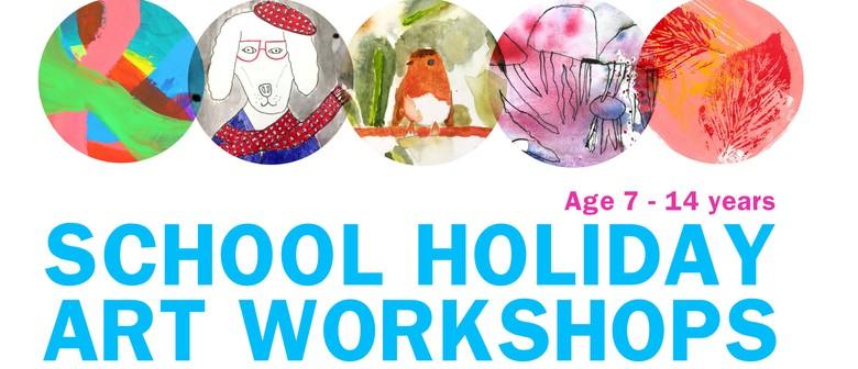 School Holiday Art Workshops