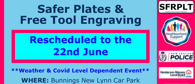 Safer Plates & Tool Engraving